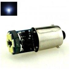 LED CAN BUS lemputė BA9S - 12 LED