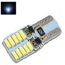 LED CAN BUS lemputė T10 / W5W - 20 LED numerio, salono apšvietimo