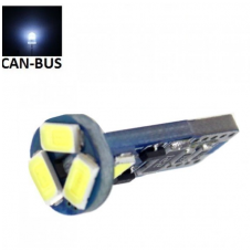 LED CAN BUS lemputė T10 / W5W - 5 LED