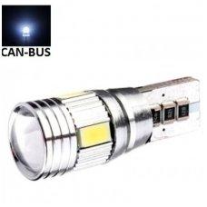 Led CAN BUS lemputė T10 / W5W - 6 LED