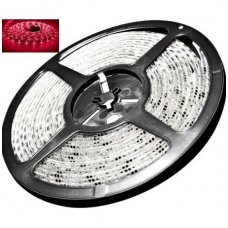 LED juosta raudona 12V 14.4W/m LED5050 SMD hermetiška