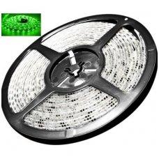 LED juosta žalia 12V 4.8W/m LED3528 SMD hermetiška