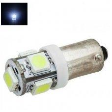Led lemputė BA9S - 5 LED