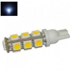 Led lemputė T10 / W5W - 13 LED