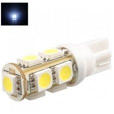 Led lemputė T10 / W5W - 9 LED