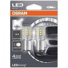 Led lemputės P21/5W OSRAM COOL WHITE STANDARD 6000K 12V 2.5W, 1457CW-02B, 4052899358010