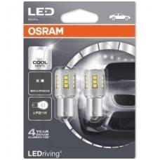 Led lemputės P21W OSRAM COOL WHITE STANDARD 6000K 12V 2.5W, 7456CW-02B, 4052899357938