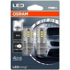 Led lemputės P27/7W OSRAM COOL WHITE STANDARD 6000K 12V 2.5W, 3547CW-02B, 4052899385702