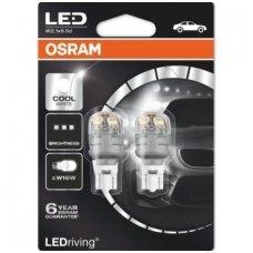 Led lemputės W16W / T15 OSRAM WHITE PREMIUM 6000K 12V 3W, 9213CW-02B, 4052899381896
