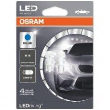 Led lemputės W5W/T10 OSRAM ICE BLUE LED 12V 1W, 2880BL-02B, 4052899359314