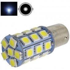 LED P21W BA15S 2w 12v 24SMD LED - dienos žibintų, stabdžių, atbulinės eigos, posūkio lemputė