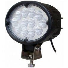 LED Sertifikuotas OORL E9 plataus švietimo darbo žibintas 36W, 10-30V, 12 LED, 2700LM, +EMC