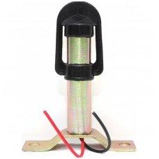 LED švyturėlio tvirtinamas