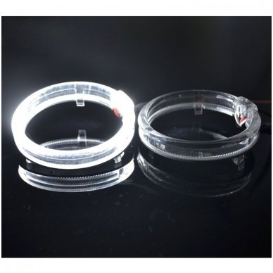 LED Angel Eyes DRL 80 mm žibintų žiedai 11