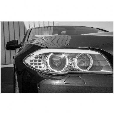 LED Angel Eyes DRL 95 mm žibintų žiedai 4