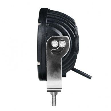 LED apvalus sertifikuotas žibintas 25W 2500LM 12-24V (E13 00 HR PL) FLOOD 11