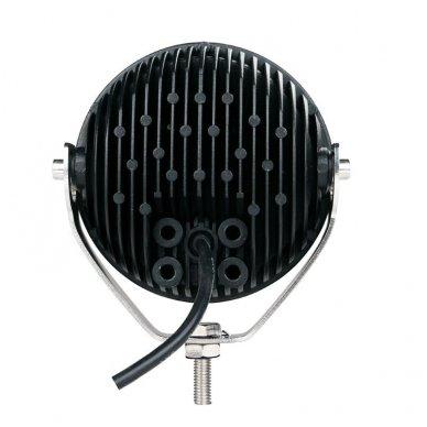 LED apvalus sertifikuotas žibintas 25W 2500LM 12-24V (E13 00 HR PL) FLOOD 50* 13