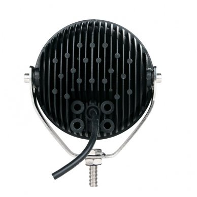 LED apvalus sertifikuotas žibintas 25W 2500LM 12-24V (E13 00 HR PL) FLOOD 12