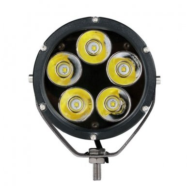 LED apvalus sertifikuotas žibintas 50W 5000LM 12-24V (E13 00 HR PL) SPOT 2