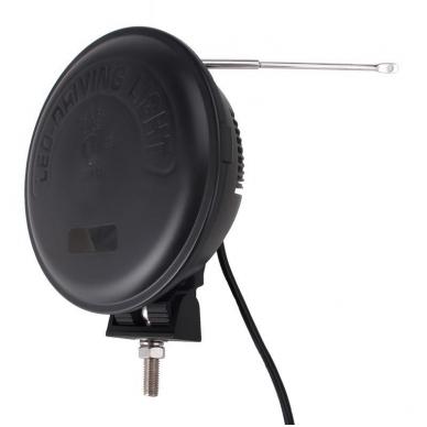 "LED apvalus sertifikuotas žibintas 70W 6500LM 12-24V (E13 HR A PL) COMBO 9"" 8"