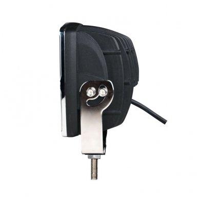 LED apvalus sertifikuotas žibintas 80W 8000LM 12-24V (E13 00 HR PL) FLOOD 8