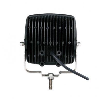 LED apvalus sertifikuotas žibintas 80W 8000LM 12-24V (E13 00 HR PL) FLOOD 10