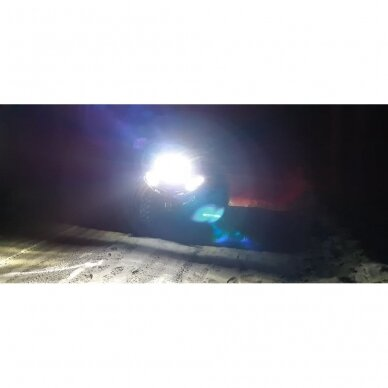 LED BAR sertifikuotas žibintas 100W 10000LM 12-24V (E9 HR PL) COMBO 31cm 12