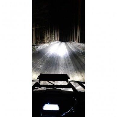 LED BAR sertifikuotas žibintas 100W 10000LM 12-24V (E9 HR PL) COMBO 31cm 13