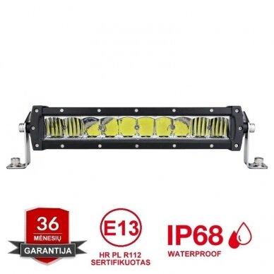 LED BAR sertifikuotas žibintas 100W 10000LM 12-24V (E9 HR PL) COMBO 31cm