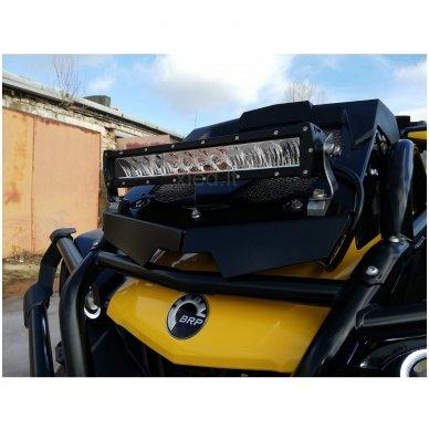 LED BAR sertifikuotas žibintas 120W 12000LM 12-24V (E9 HR PL) COMBO 9