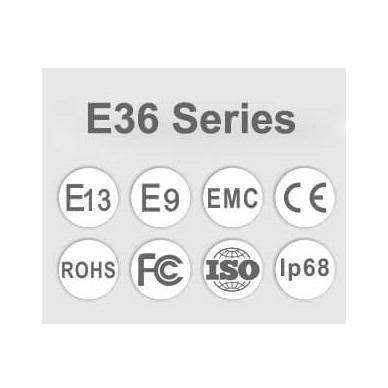 LED BAR sertifikuotas žibintas 180W 18000LM 12-24V (E9 HR PL) COMBO 15