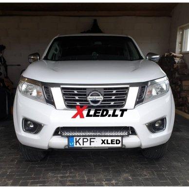 LED BAR sertifikuotas žibintas 240W 24000LM 12-24V (E9 HR PL) COMBO 68cm 2