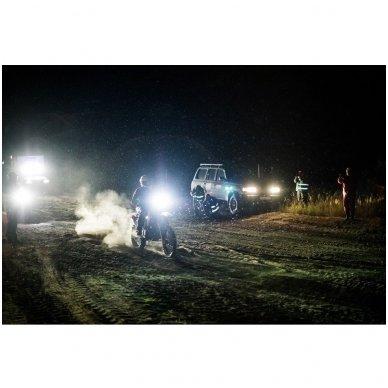 LED BAR sertifikuotas žibintas 60W 6000LM 12-24V (E9 HR PL) COMBO 10