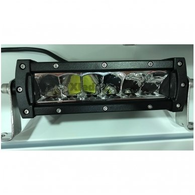 LED BAR sertifikuotas žibintas 60W 6000LM 12-24V (E9 HR PL) SPOT 21cm 2