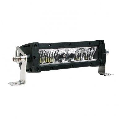 LED BAR sertifikuotas žibintas 60W 6000LM 12-24V (E9 HR PL) SPOT 21cm 8