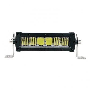 LED BAR sertifikuotas žibintas 60W 6000LM 12-24V (E9 HR PL) SPOT 21cm 11