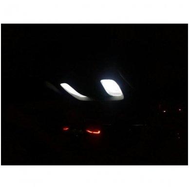 LED CAN BUS lemputė T10 / W5W - 10 LED balta 9