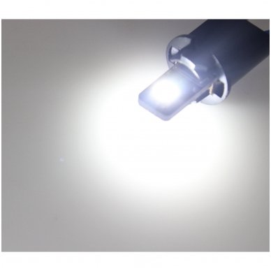 LED CAN BUS lemputė T10 / W5W - 2 LED 5