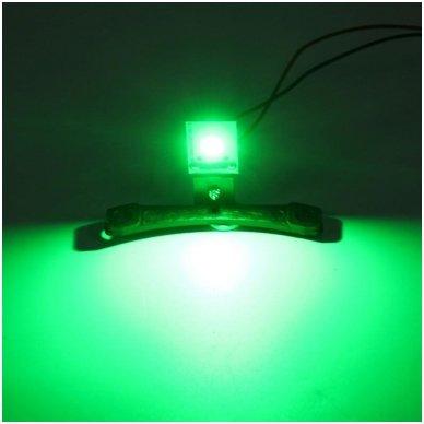LED Devil Eyes žalios tuning linzių lemputės 6