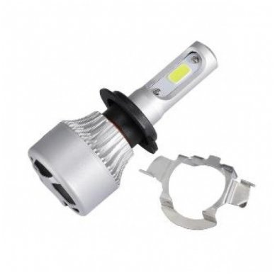 LED H7 lemputės adapteris - montavimo lizdas LED sistemoms, laikiklis BMW/ VW/ AUDI/ MB/ TOYOTA/ MAZDA/ SAAB/ NISSAN 3