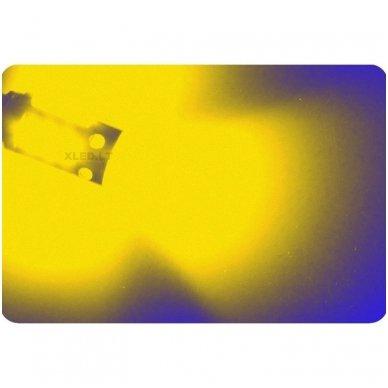 LED lemputė BA9S / T4W geltona AMBER 4