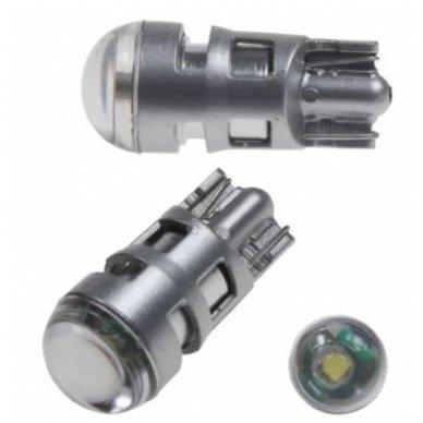 LED lemputė T10 / W5W CREE 5W LEDriving STANDARD balta 2