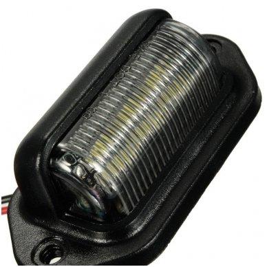 LED numerio apšvietimas 12V-24V transportui SAE DOT L09 žibintas