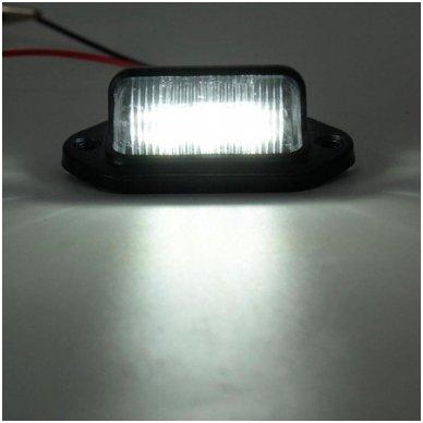 LED numerio apšvietimas 12V transportui SAE DOT L09 žibintas 5