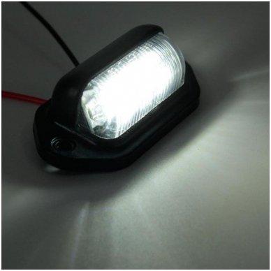 LED numerio apšvietimas 12V-24V transportui SAE DOT L09 žibintas 7