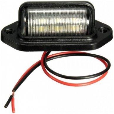 LED numerio apšvietimas 12V transportui SAE DOT L09 žibintas 2