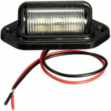 LED numerio apšvietimas 12V-24V transportui SAE DOT L09 žibintas 2