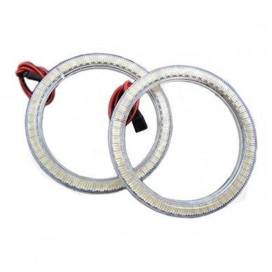 LED SMD Angel Eyes DRL 80 mm žibintų žiedai