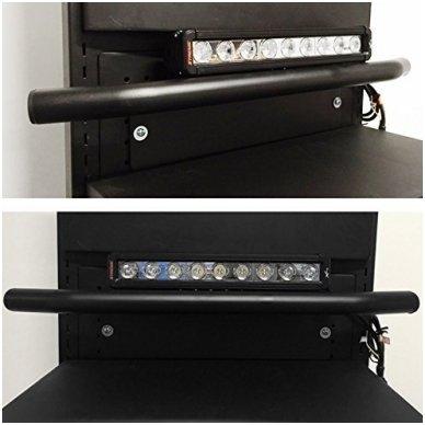 LED žibintų tvirtinimo laikiklis / lankas - numerio rėmelis 4