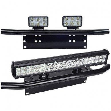 LED žibintų tvirtinimo laikiklis / lankas - numerio rėmelis 2